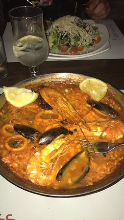 The worst paella I ever eaten in my life