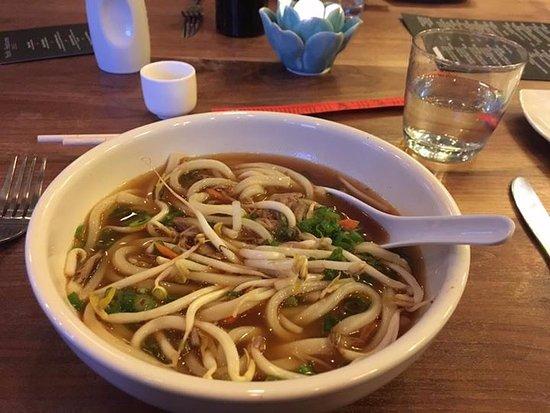 East Aurora, NY: Udon Noodle Soup