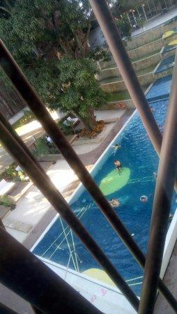 Holiday Inn Tuxpan: Vista de la alberca desde habitación