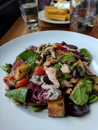 Ames, IA: Salmon salad