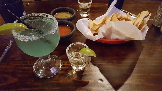 Addison, TX: House Margarita with tequila shot