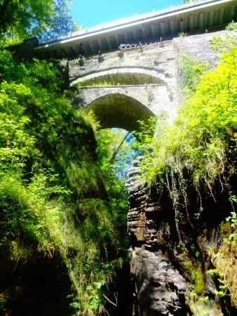 Devil's Bridge (Pontarfynach), UK: Viewing Platform