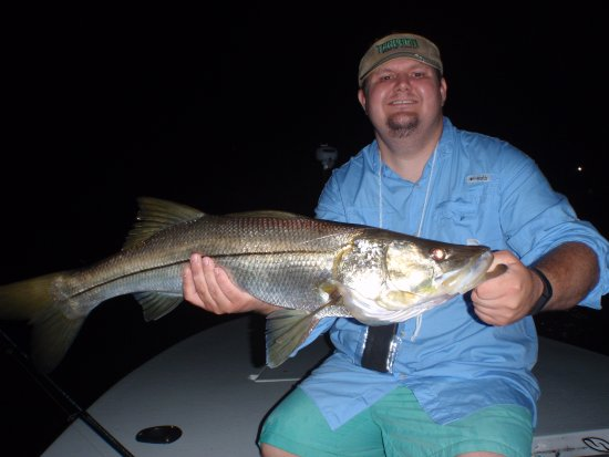 South Miami, FL: Respectable Night Snook for any location!! Nice job Heath!!