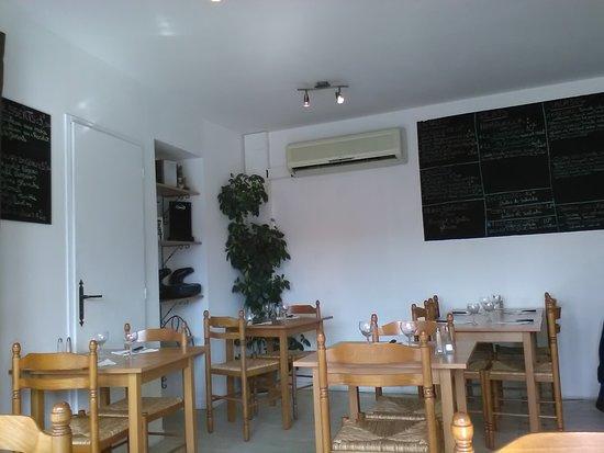 Saint-Cyprien, France: côté repas