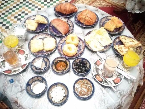 Dar Hafsa: Desayuno
