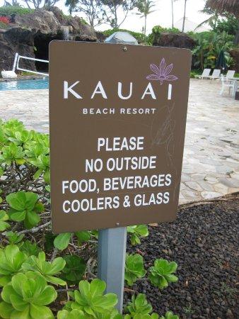 Kauai Beach Resort: seemed like a gouge to us.