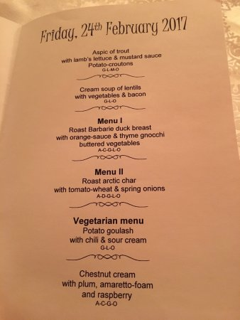 Erika Hotel: Some of the meals and typical menus  Try everything the food is amazing