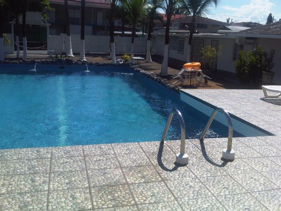 Hotel la Terraza: The clean and well maintained swimming pool