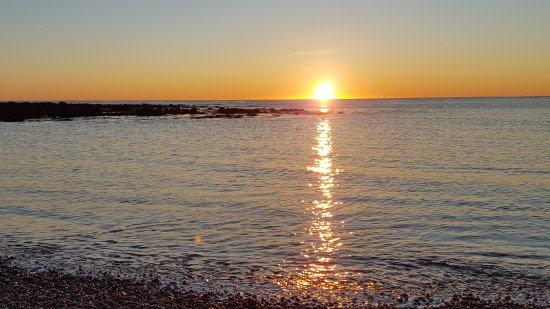 Rye Beach, NH: Sunrise, near Jenness Beach 2