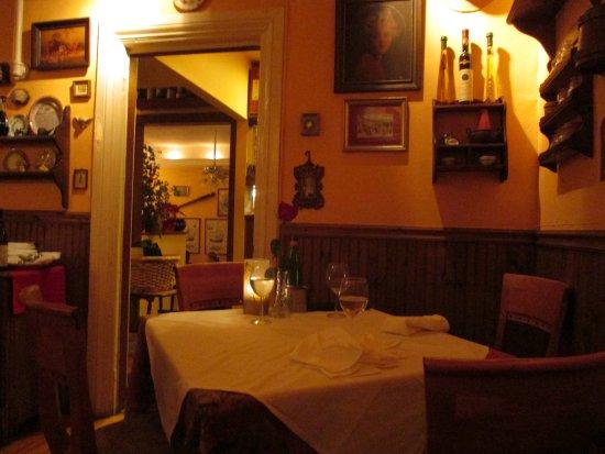 Mamma Luisa Restaurant : view of table
