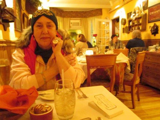 Mamma Luisa Restaurant : view of room upstair