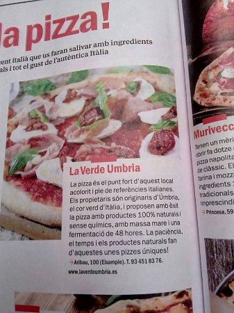 La Verde Umbria: SALIMOS EN LA REVISTA TIMEOUT BARCELONA