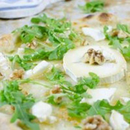 La Verde Umbria: PIZZA QUESO DE CABRA