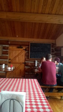 """Edom, TX: They have a """"Daily Special"""" chalkboard much like The Shed."""