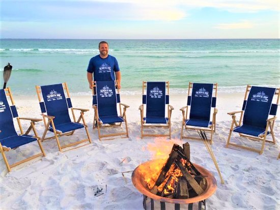 The Al 30a Owner With His Fire Pit Bonfire Package