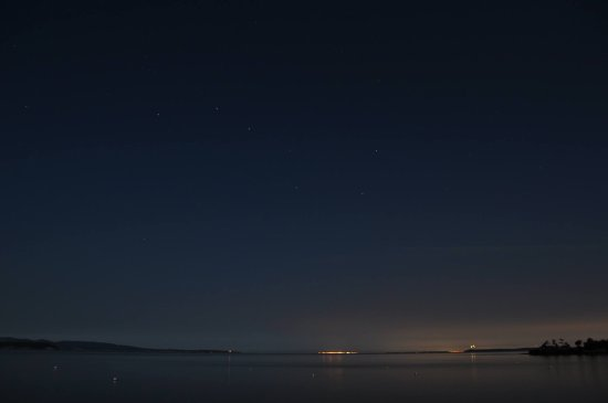 Eastsound, WA: Clear skies for star gazing
