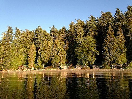 Eastsound, WA: View from water