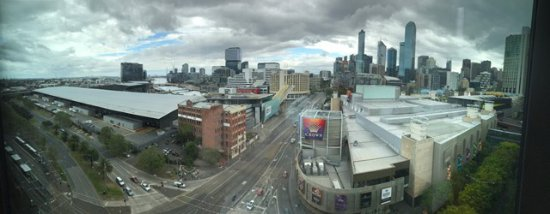 Crown Metropol Melbourne: View from loft suite
