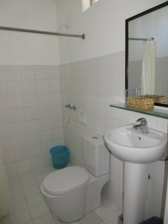 Malapascua Exotic Island Dive & Beach Resort: トイレは水栓ですが、タホを使います