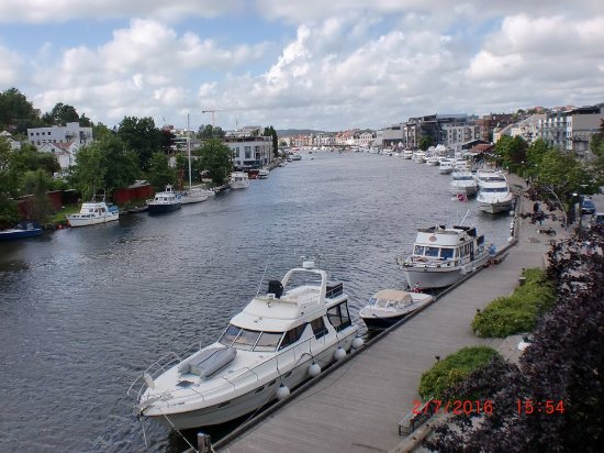 Fredrikstad, Norway: Elvebredden