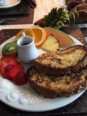 Pimbina Spa & Massage : French toast