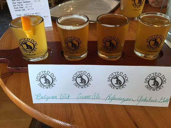 Mesilla, NM: Beer flight