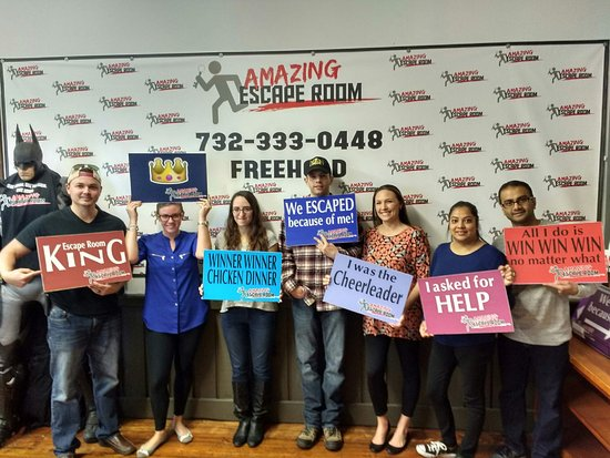 Amazing Escape Room: Picture Of Amazing Escape Room Freehold