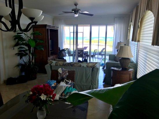 The Tuscany: living room