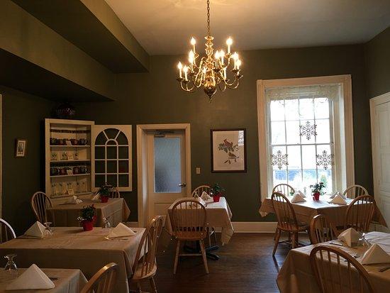 เบดฟอร์ด, เพนซิลเวเนีย: Restaurant at the Golden Eagle Inn