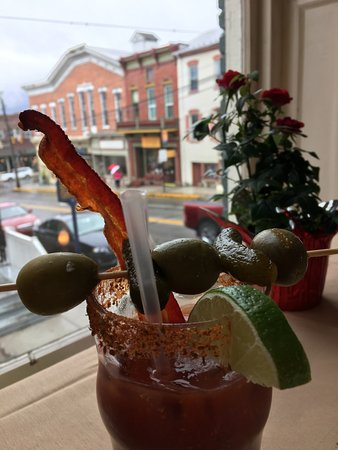 Bedford, PA: Custom bloody mary from the bloody mary bar
