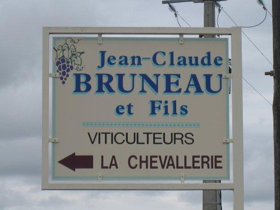 Saint Nicolas de Bourgueil, Франция: Signalisation routière