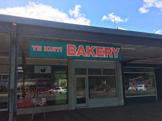 Te Kuiti, Nueva Zelanda: Best bakery in Town & cheap