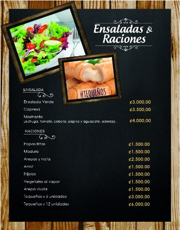 San Rafael de Escazu, Costa Rica: Ensaladas