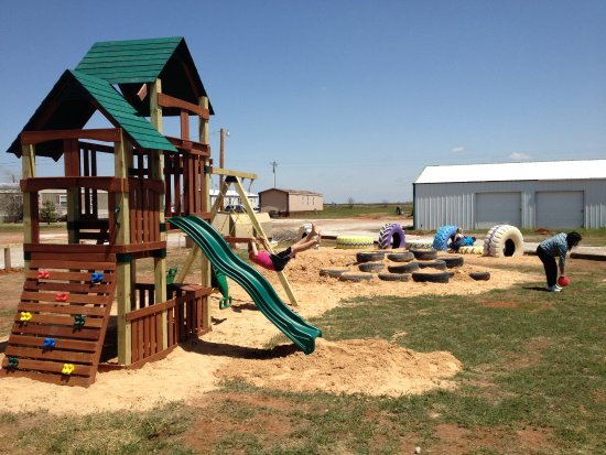 Elk City, OK: This is our kid's playground area.