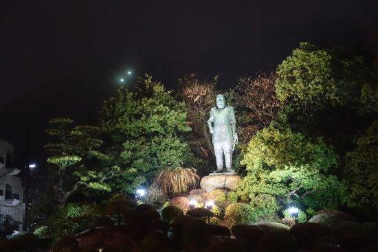 Saigo Takamori Statue: ライトアップ