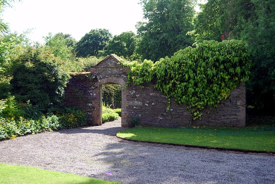 The Curragh, Ireland: The Walled Garden