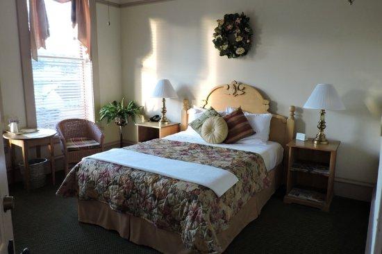 La Conner, Etat de Washington : Hotel Planter king room