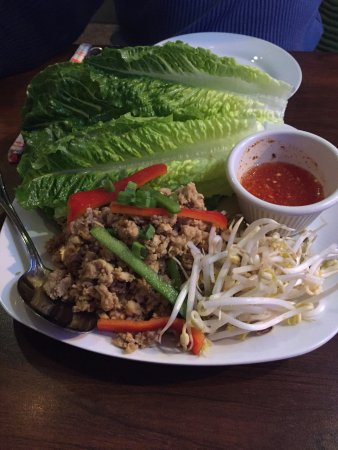 Lansdowne, PA: Great food excellent service!  Need to go we will definitely be coming back. Lettuce wraps were