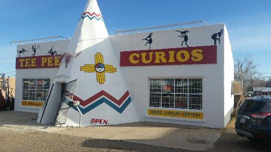 Tucumcari, Nuevo México: TeePee Curios