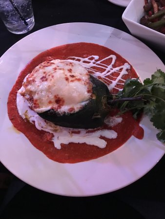 Tubac, อาริโซน่า: Stuffed Poblano pepper delicious