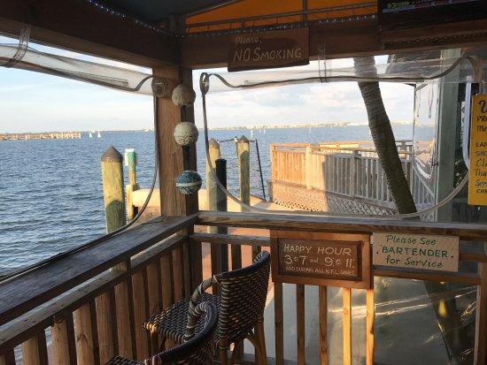 Jensen Beach, FL: Outside bar view