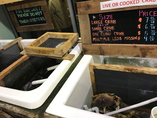 Burlingame, CA: New England Lobster Market & Eatery
