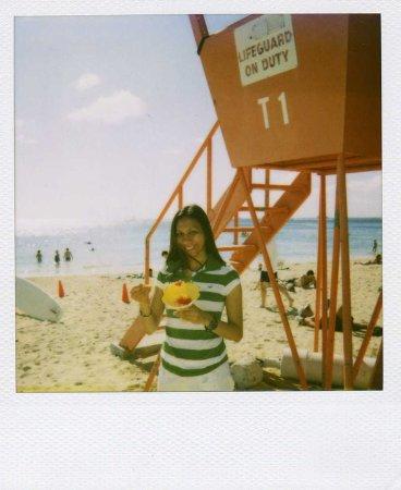 Wyndham at Waikiki Beach Walk: We had shaved ice at North Shore