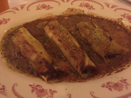 Naperville, IL : Braised Beef Cannelloni