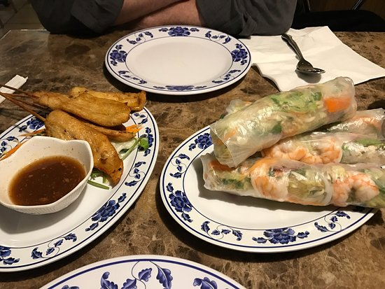 West Valley City, UT: Massive and delicious spring rolls