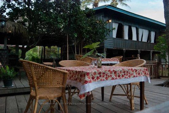 Don Khone, Laos: Pomelo Restaurant