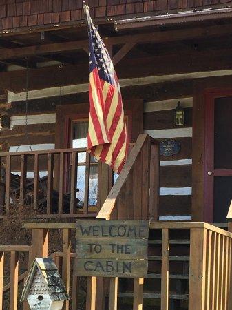The Cabin at Cedar Run Farm Foto