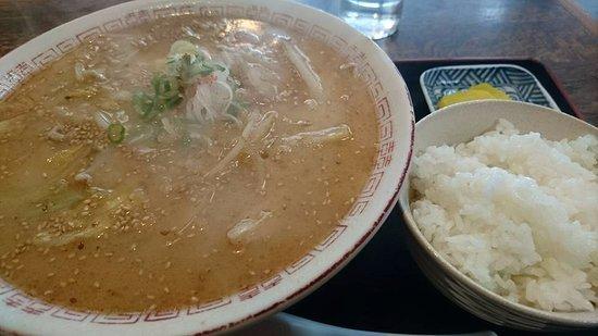 Yuni-cho, Japan: 味噌ラーメン、美味。