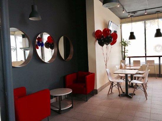 New Westminster, Canada: V Cafe New West