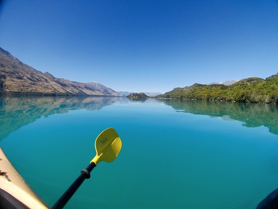 Glenorchy, Neuseeland: Rippled Earth Kayaking